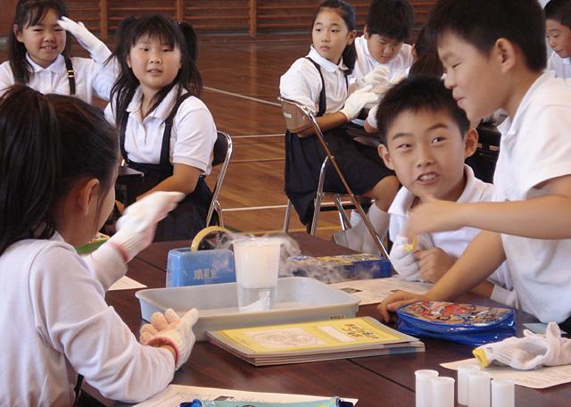 小学生向け発明工作教室1